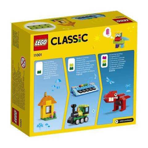 11001 LEGO Classic Yapım Parçaları ve Fikirler