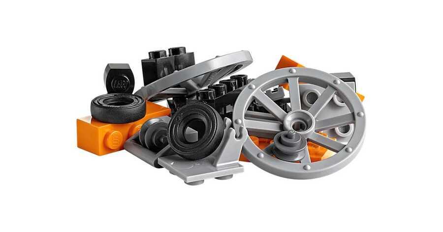 10715 LEGO Classic Tekerlekli Yapım Parçaları