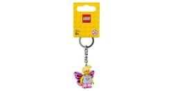 853795 Butterfly Girl Anahtarlık - Thumbnail