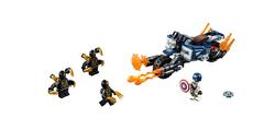 LEGO - 76123 Captain America: Outrider Saldırısı