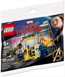 30453 Captain Marvel And Nick Fury - Thumbnail
