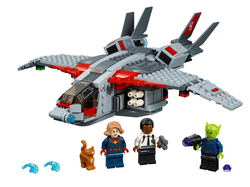 LEGO - 76127 Captain Marvel and The Skrull Attack