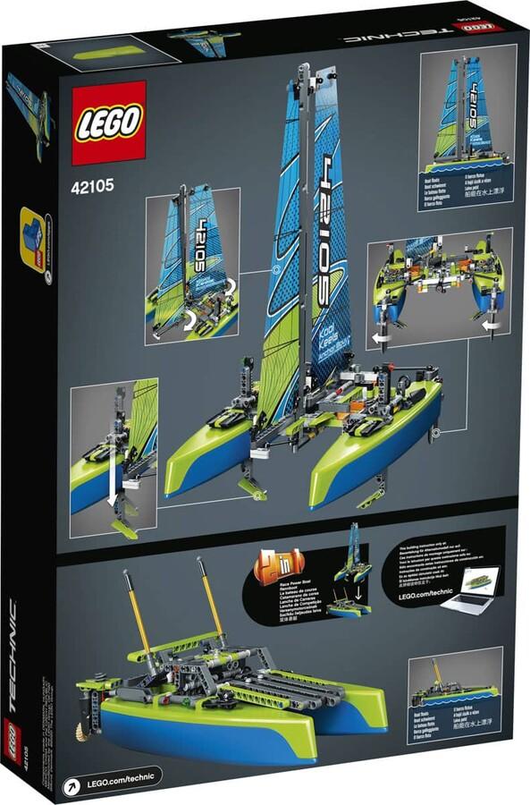 42105 LEGO Technic Katamaran