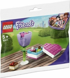 30411 LEGO Friends Çikolata Kutusu ve Çiçek - Thumbnail
