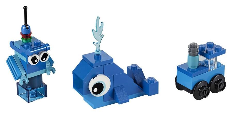 11006 LEGO Classic Yaratıcı Mavi Yapım Parçaları