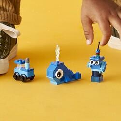 11006 LEGO Classic Yaratıcı Mavi Yapım Parçaları - Thumbnail