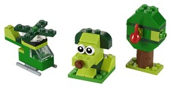 LEGO - 11007 LEGO Classic Yaratıcı Yeşil Yapım Parçaları