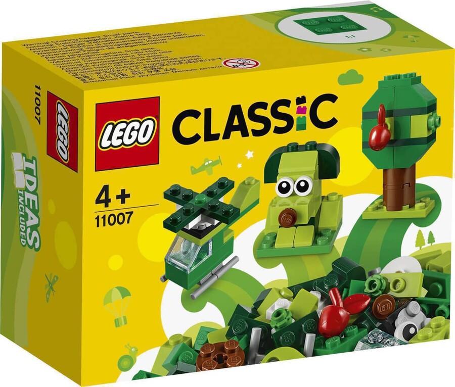 11007 LEGO Classic Yaratıcı Yeşil Yapım Parçaları