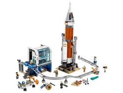 LEGO - 60228 LEGO City Uzay Roketi ve Fırlatma Kontrolü