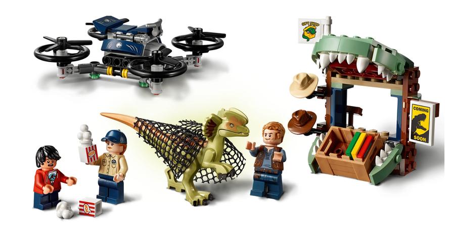 75934 Dilophosaurus Kaçıyor