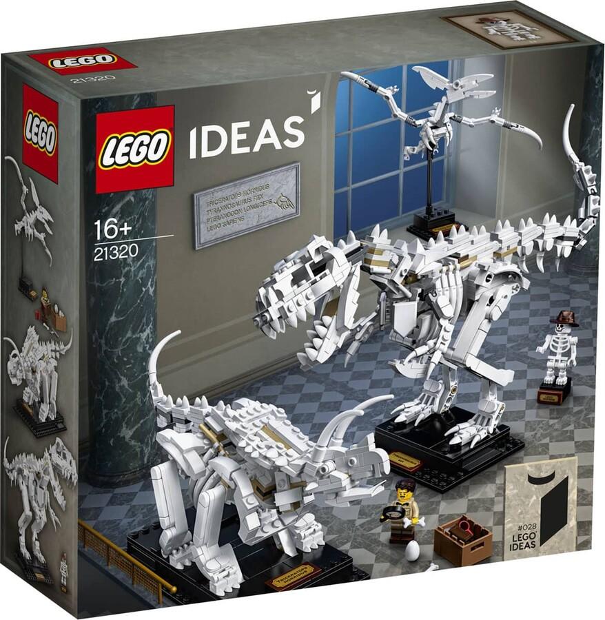 21320 LEGO Ideas Dinozor Fosilleri