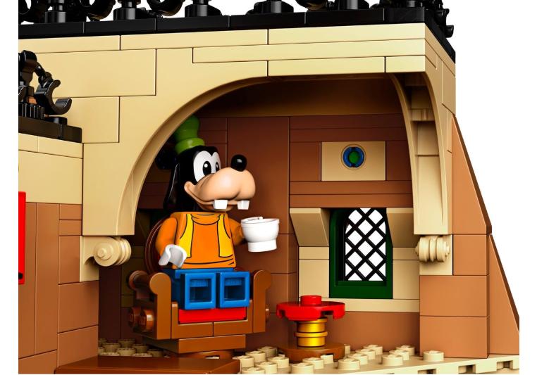 71044 LEGO Disney Tren İstasyonu