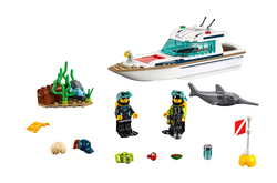 LEGO - 60221 Diving Yacht