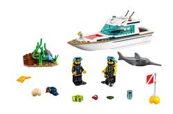 LEGO - 60221 LEGO City Dalış Yatı