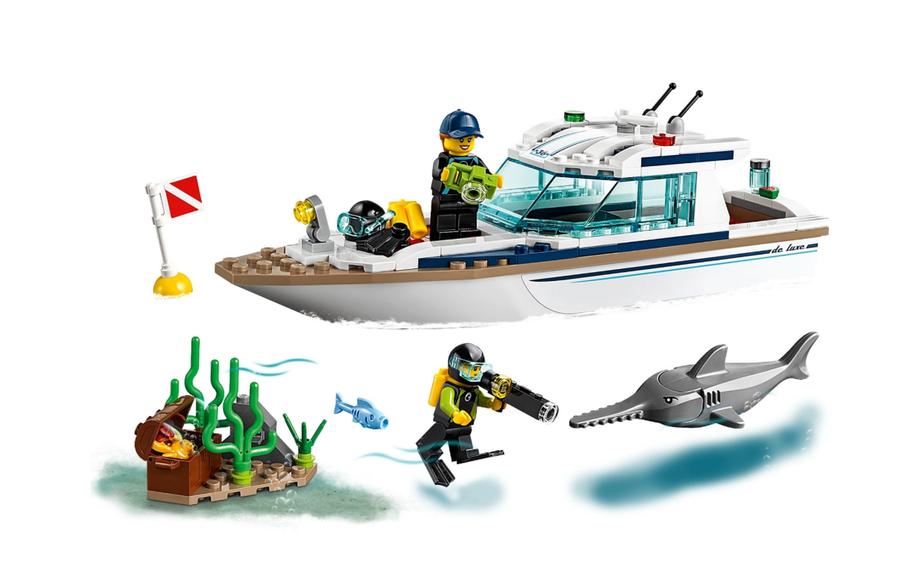 60221 LEGO City Dalış Yatı
