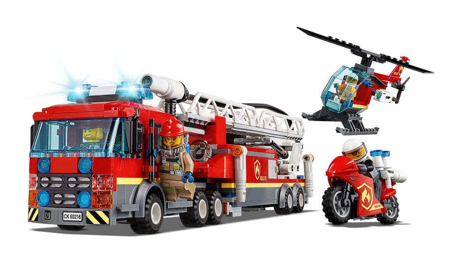 60216 LEGO City Şehir Merkezi İtfaiyesi