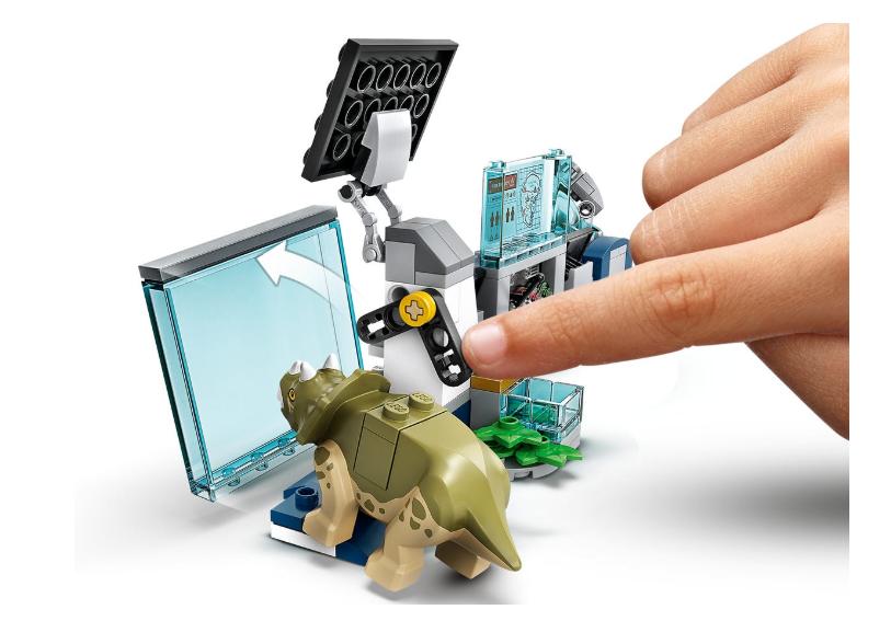75939 LEGO Jurassic World Dr Wu'nun Laboratuvarı: Yavru Dinozorların Kaçışı