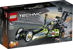 42103 LEGO Technic Drag Yarış Arabası - Thumbnail