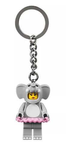853905 Elephant Girl Anahtarlık