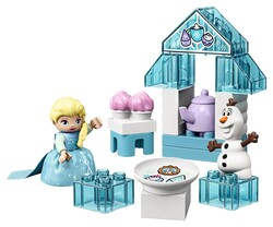 LEGO - 10920 LEGO DUPLO Princess Elsa ve Olaf'ın Çay Daveti