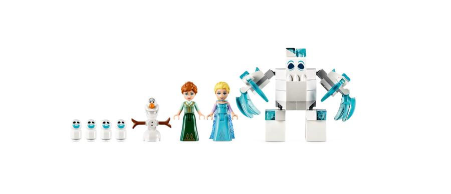 43172 LEGO   Disney Princess Karlar Ülkesi Elsa'nın Büyülü Buz Sarayı
