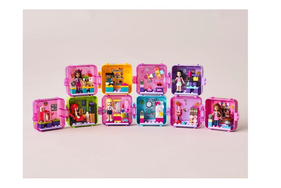 41409 Emma's Shopping Play Cube