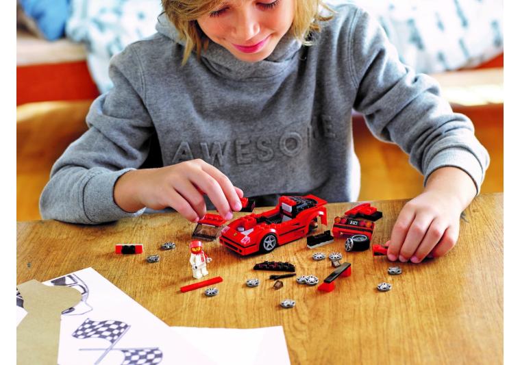 75890 LEGO Speed Champions Ferrari F40 Competizione