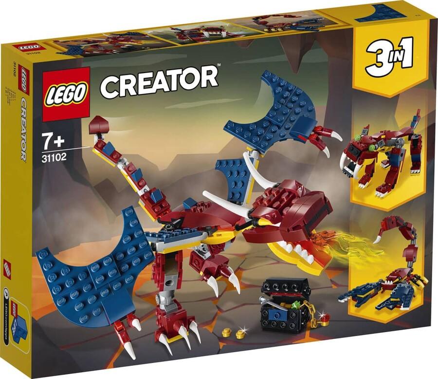 31102 LEGO Creator Ateş Ejderhası
