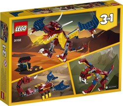 31102 LEGO Creator Ateş Ejderhası - Thumbnail