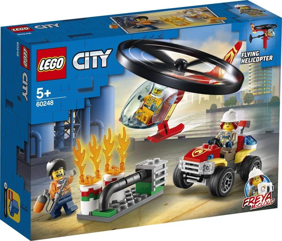 60248 LEGO City İtfaiye Helikopteri Müdahalesi