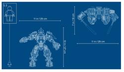 71720 LEGO Ninjago Ateş Taşı Robotu - Thumbnail