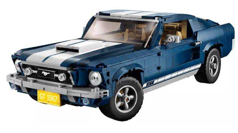 10265 LEGO Creator Ford Mustang