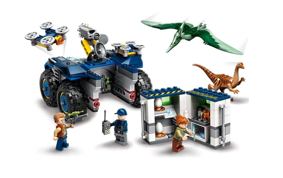 75940 LEGO Jurassic World Gallimimus ve Pteranodon Kaçışı