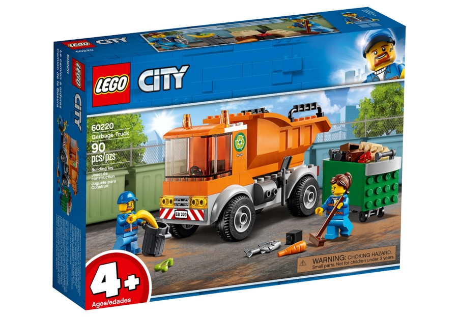 60220 LEGO City Çöp Kamyonu