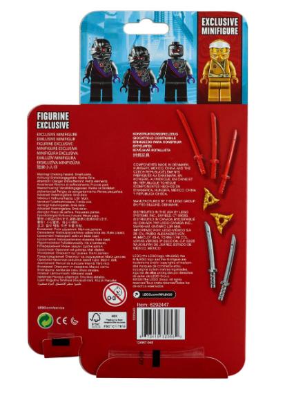 40374 LEGO LEGO Iconic Altın Zane MF Aks. Seti