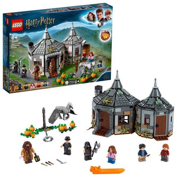 75947 LEGO Harry Potter Hagrid'in Kulübesi: Şahgaga'nın Kurtuluşu