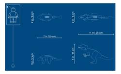 75941 LEGO Jurassic World Indominus Rex Ankylosaurus'a Karşı - Thumbnail