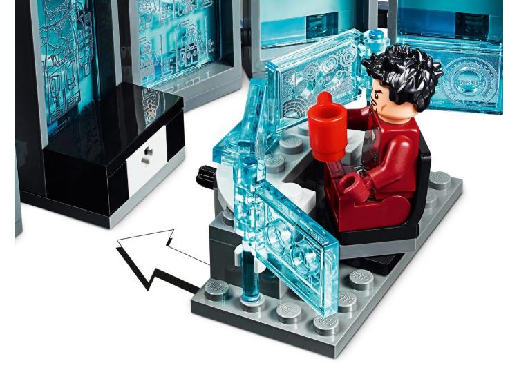76125 LEGO Marvel Iron Man Zırh Salonu