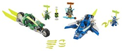 LEGO - 71709 LEGO Ninjago Jay ve Lloyd'un Hızlı Yarışçıları