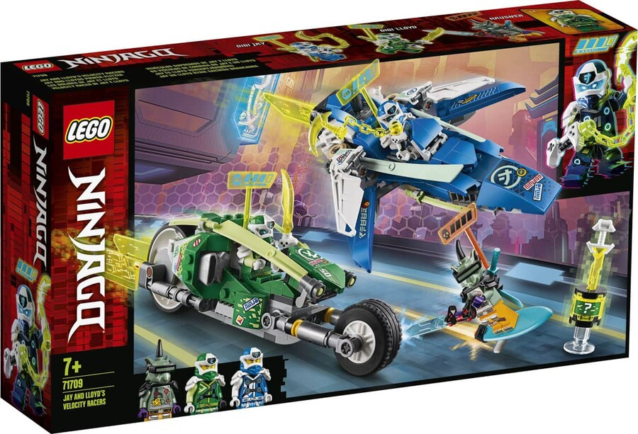 71709 LEGO Ninjago Jay ve Lloyd'un Hızlı Yarışçıları