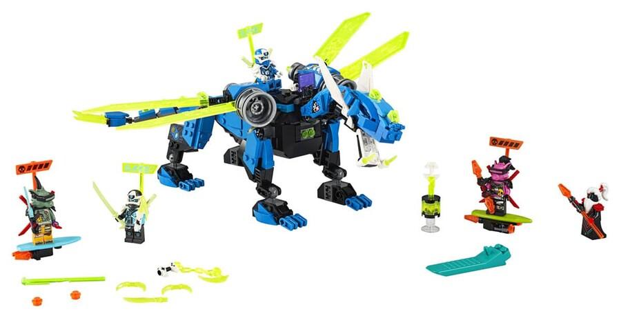 71711 LEGO Ninjago Jay'in Siber Ejderhası