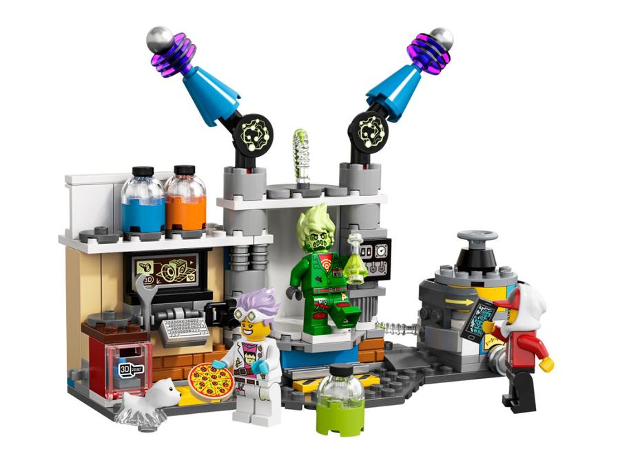 70418 J.B.'nin Hayalet Laboratuvarı