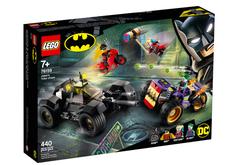 76159 LEGO Super Heroes Joker'in Üç Tekerlekli Motosiklet Takibi - Thumbnail