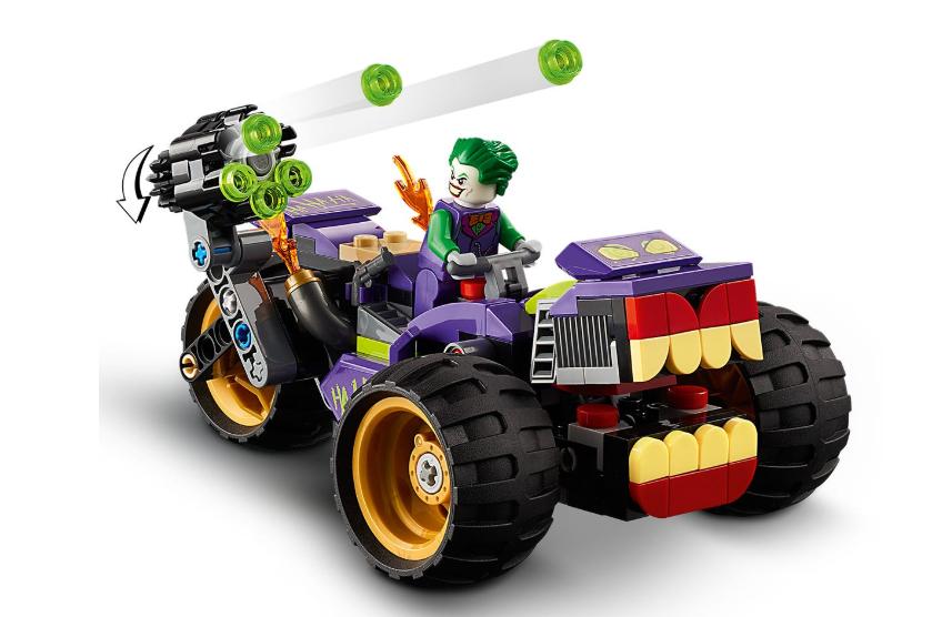 76159 LEGO Super Heroes Joker'in Üç Tekerlekli Motosiklet Takibi