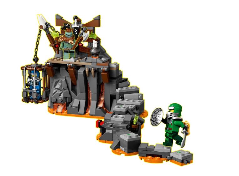 71717 LEGO Ninjago Kafatası Zindanlarına Yolculuk