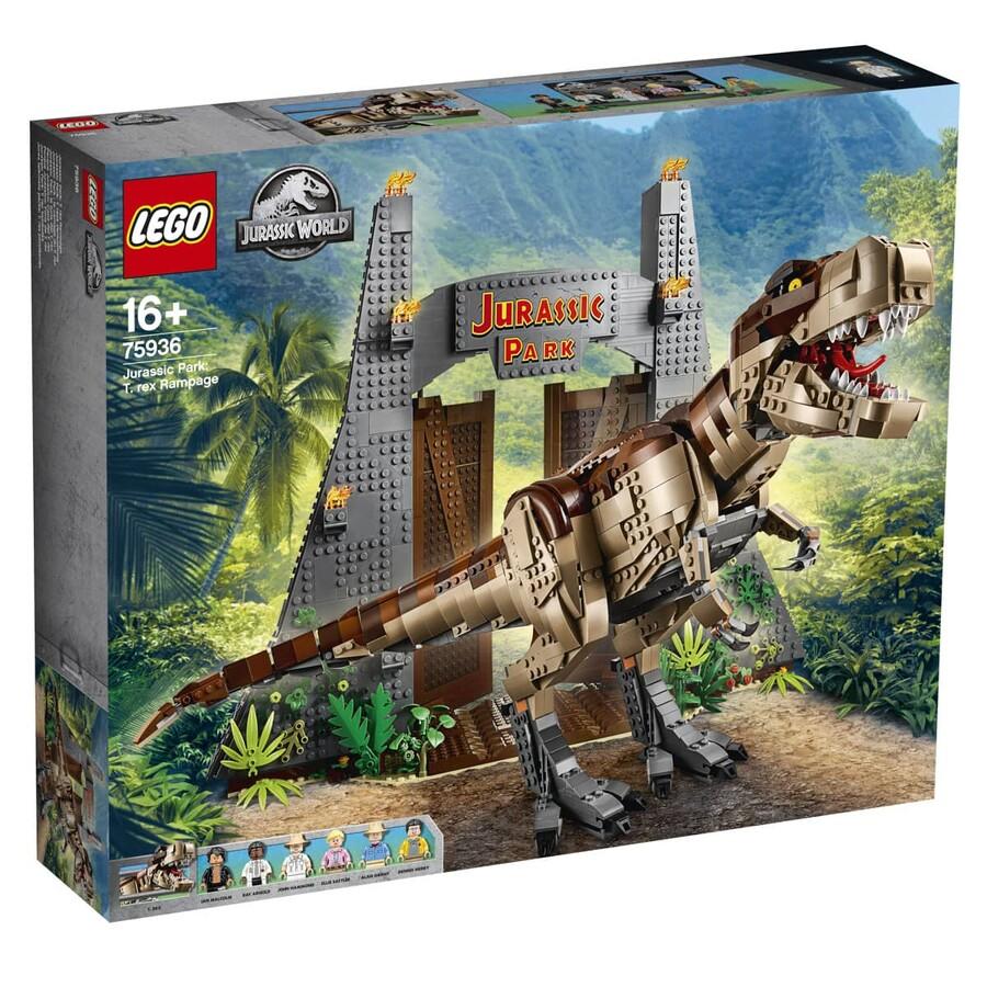 75936 LEGO Jurassic World Jurassic Park: T. rex Saldırısı