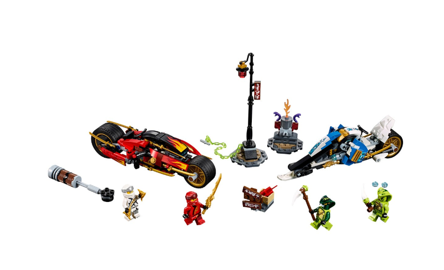 70667 Kai's Blade Cycle & Zane's Snowmobile