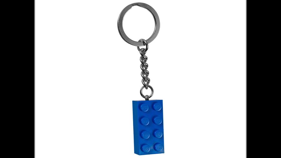 850152 2x4 Stud Blue Anahtarlık