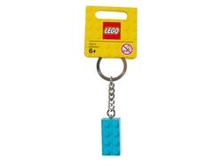 LEGO - 853380 2x4 Stud Turquoise Anahtarlık