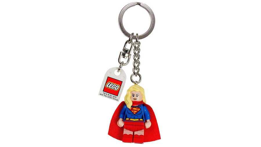 853455 Supergirl Anahtarlık